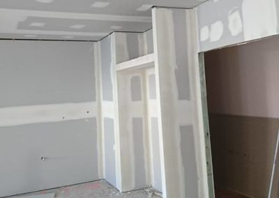 Internal plastering job in Mossman