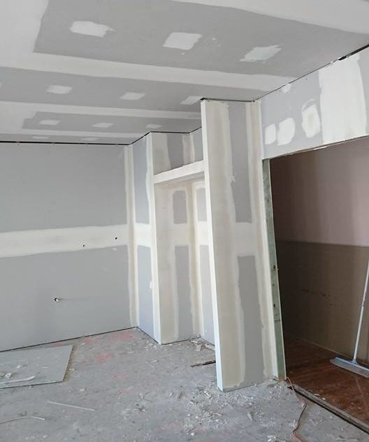 plasterboard lining in this North Sydney home