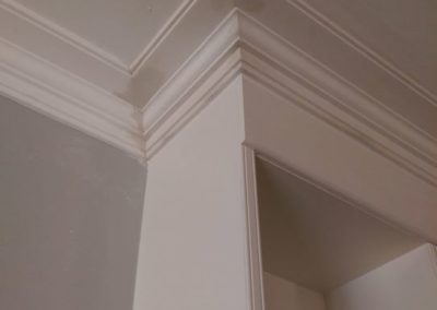 New cornices for this Croydon townhouse